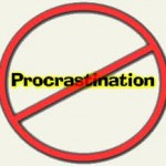 """Stop The Procrastination"""