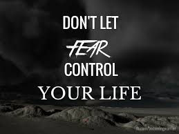 No fear about your life