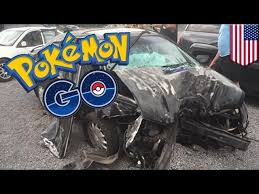 Car Crash because of pokemon